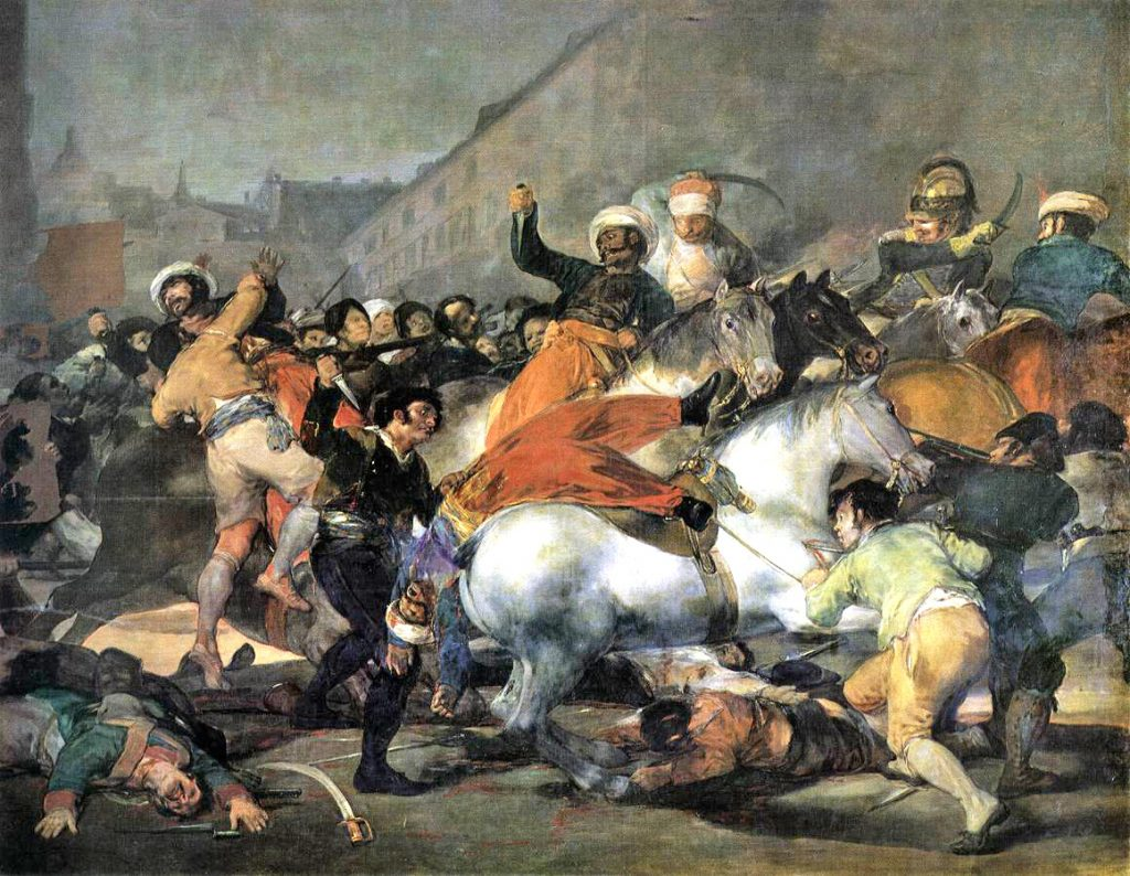 the third of may 1808 by francisco de goya essay Formal analysis this is a painting of the spanish painter francisco goya entitled el 3 de mayo de 1808 (the third of may, 1808) the work was painted in 1814.