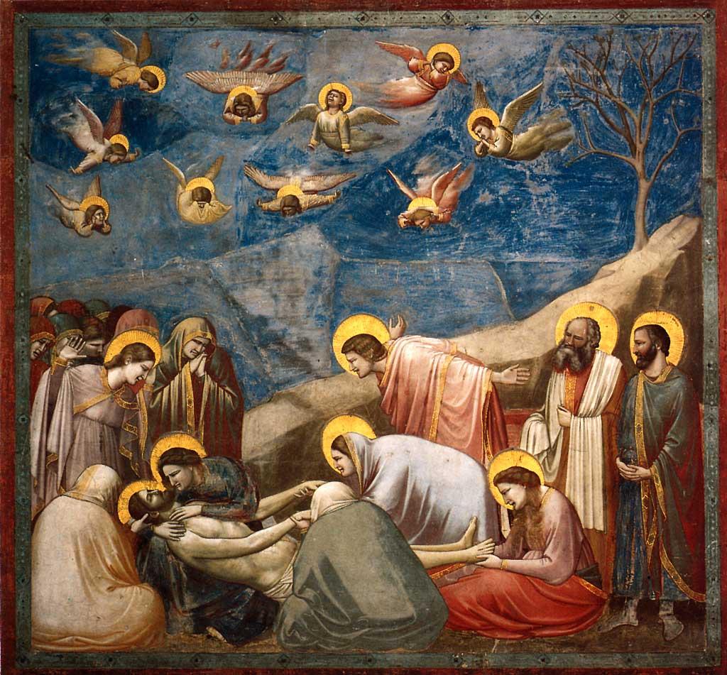 Sanata Başla Sanata Yeni Başlayanlara Ağit Lamentation Giotto