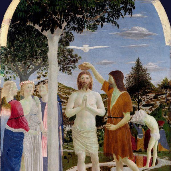 "İSA'NIN VAFTİZİ ""THE BAPTISM OF CHRIST"" – PIERO DELLA FRANCESCA"