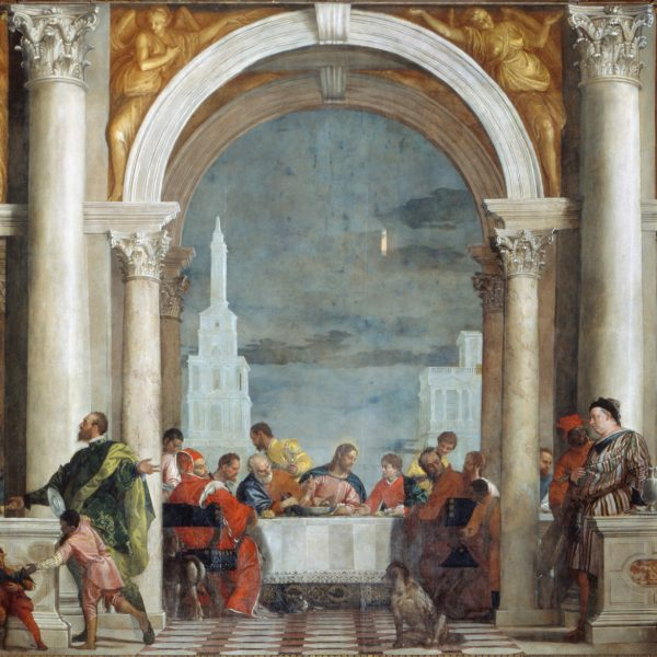 """LEVI'NİN EVİNDE ZİYAFET """"THE FEAST IN THE HOUSE OF LEVI"""" – VERONESE"""
