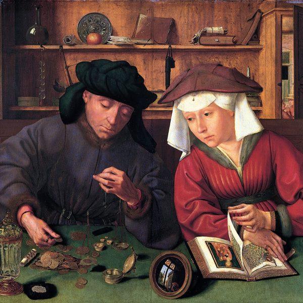 "TEFECİ VE KARISI ""THE MONEYLENDER AND HIS WIFE"