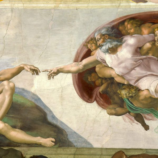 THE CREATION OF ADAM – MICHELANGELO