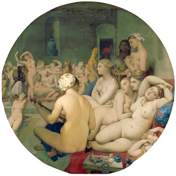 "TÜRK HAMAMI ""THE TURKISH BATH"" – INGRES"