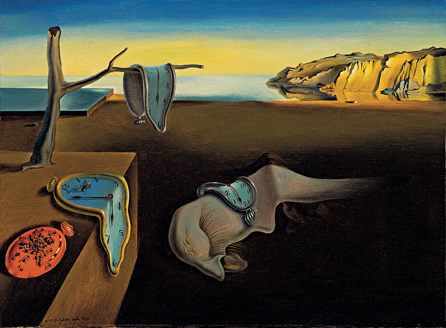 "BELLEĞİN AZMİ ""THE PERSISTENCE OF MEMORY"" – DALÍ"
