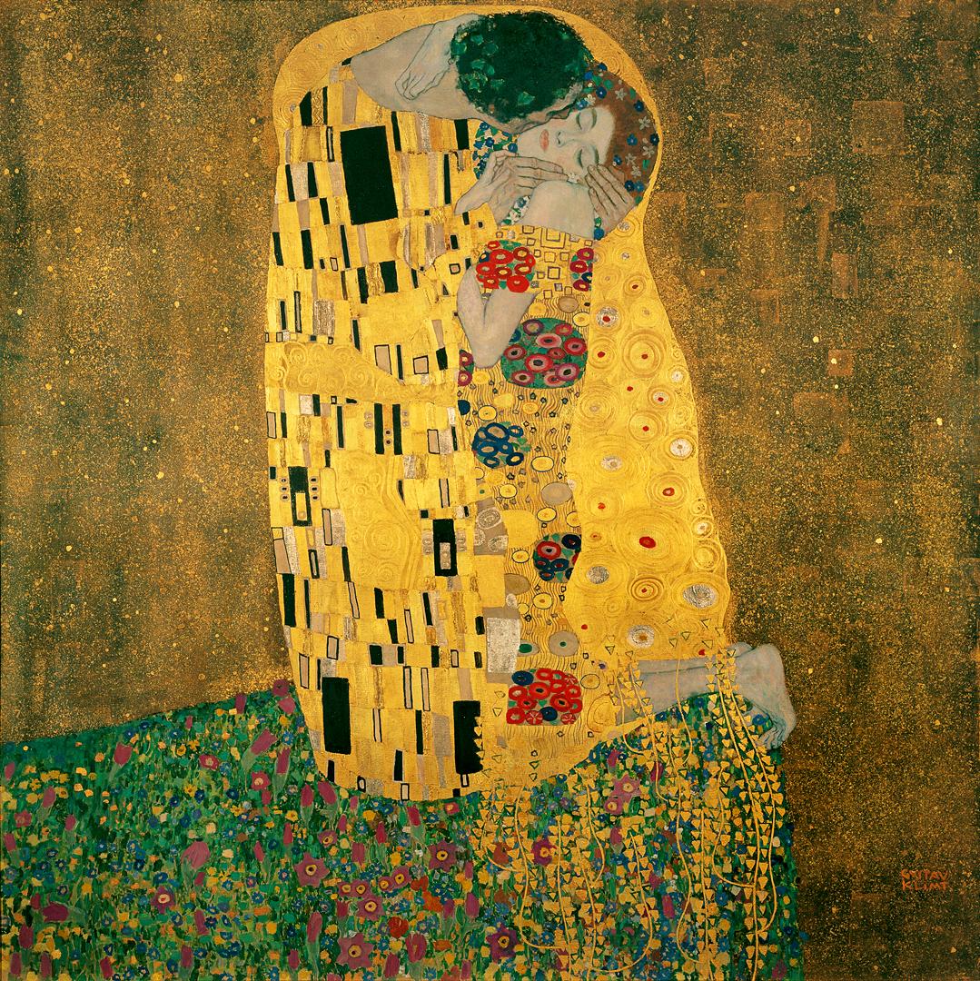 """Sanata Başla! » Sanata Yeni Başlayanlara » ÖPÜCÜK """"THE KISS"""" – KLIMT"""
