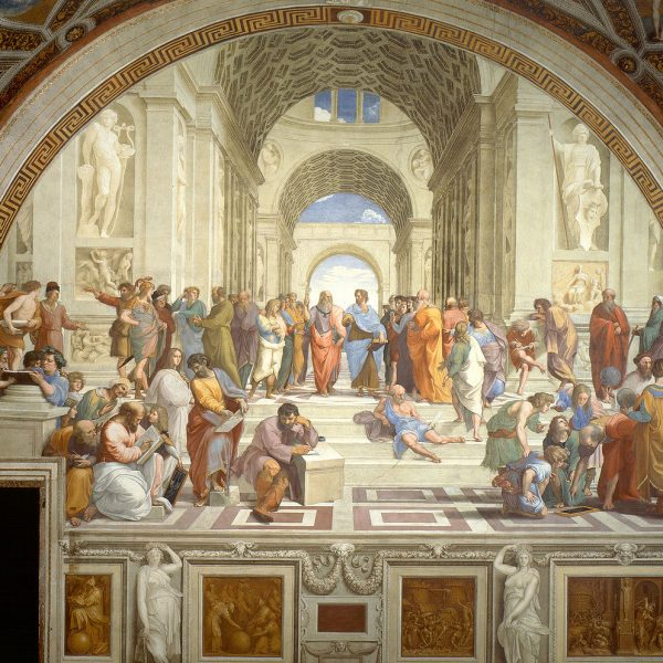 "ATİNA OKULU ""THE SCHOOL OF ATHENS"" – RAFFAELLO"