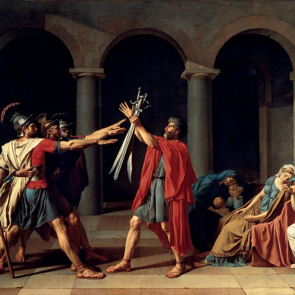 OATH OF THE HORATII – DAVID