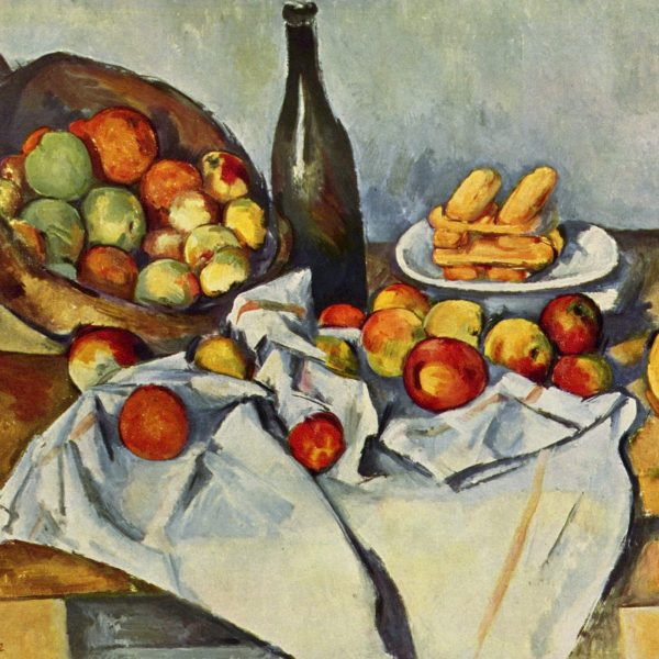 "ELMA SEPETİ ""THE BASKET OF APPLES"" – CÉZANNE"