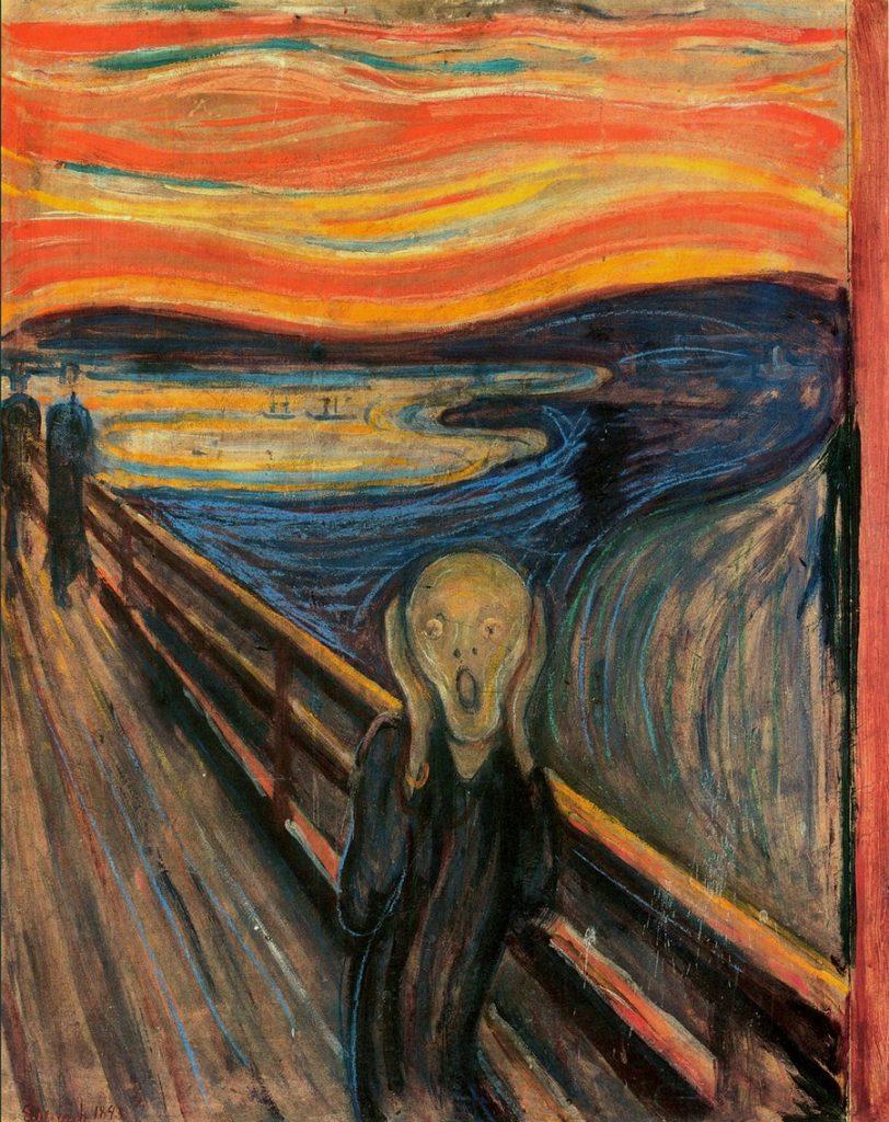 Start Art! » For New Beginners to Art » THE SCREAM - MUNCH