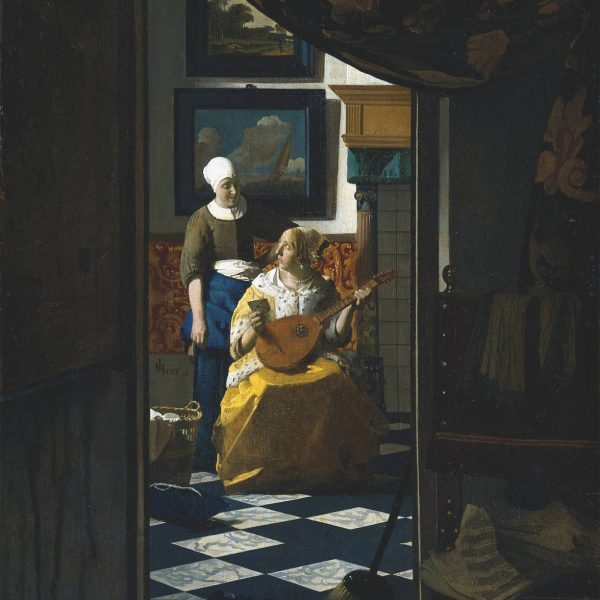 "AŞK MEKTUBU ""THE LOVE LETTER"" – VERMEER"