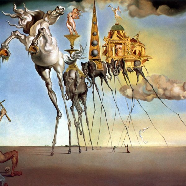 "AZİZ ANTHONY'NİN BAŞTAN ÇIKARILIŞI ""THE TEMPTATION OF SAINT ANTHONY"" – DALÍ"