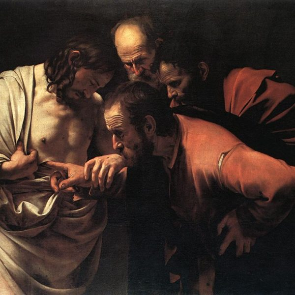 "AZİZ THOMAS'IN ŞÜPHECİLİĞİ ""THE INCREDULITY OF SAINT THOMAS"" – CARAVAGGIO"