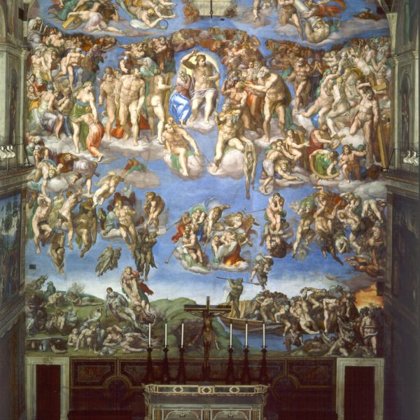 "KIYAMET GÜNÜ ""THE LAST JUDGEMENT"" – MICHELANGELO"