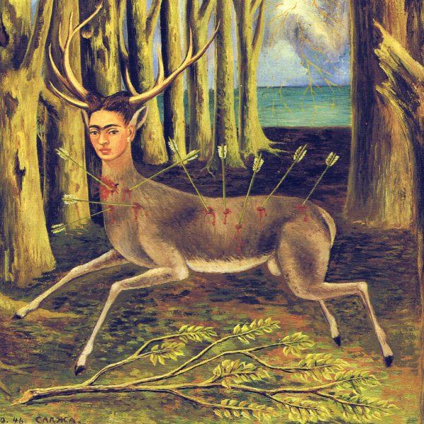 "YARALI GEYİK ""THE WOUNDED DEER"" – FRIDA KAHLO"