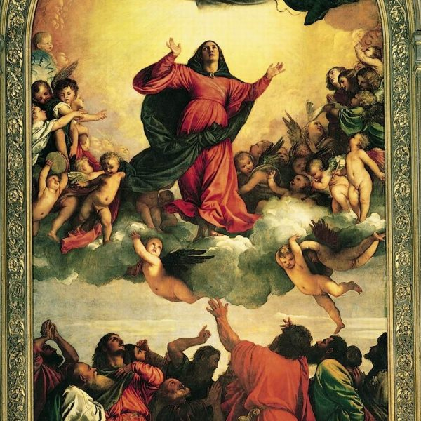 "MERYEM'İN GÖĞE KABULU VE TAÇLANDIRILMASI ""ASSUMPTION AND CORONATION OF THE VIRGIN"" – TIZIANO"