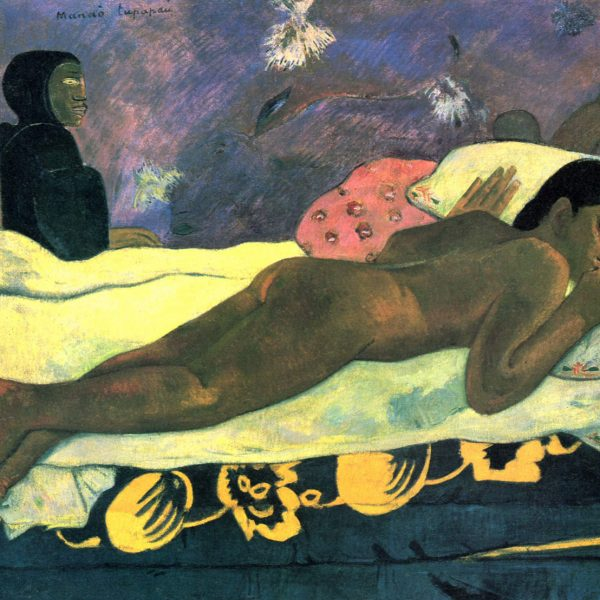 "ÖLÜNÜN RUHU SEYREDERKEN ""THE SPIRIT OF THE DEAD WATCHING"" (MANAO TUPAPAU) – GAUGUIN"