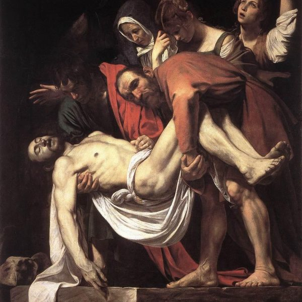"İSA'NIN MEZARA KONULMASI ""THE ENTOMBMENT OF CHRIST"" – CARAVAGGIO"