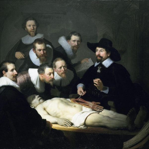 "DR. TULP'UN ANATOMİ DERSİ ""THE ANATOMY LESSON OF DR. TULP"" – REMBRANDT"