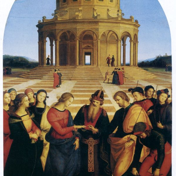"MERYEM'İN EVLİLİĞİ ""THE MARRIAGE OF THE VIRGIN"" – RAFFAELLO"