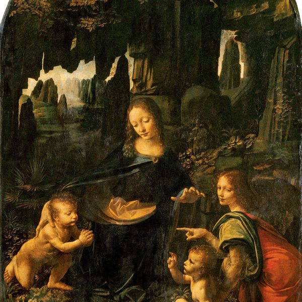 "KAYALIKLAR BAKİRESİ ""VIRGIN OF THE ROCKS"" – LEONARDO DA VINCI"