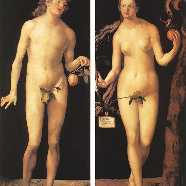 "ADEM VE HAVVA ""ADAM AND EVE"" – DÜRER"