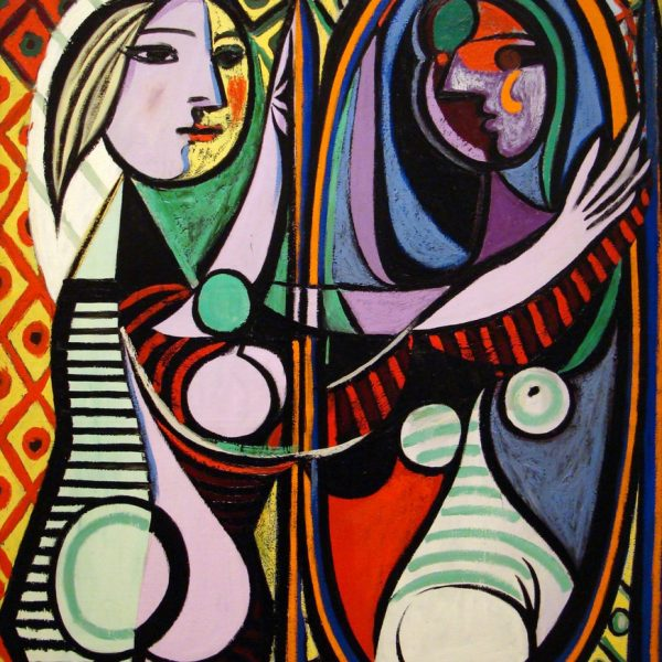 "AYNA KARŞISINDAKİ KIZ ""GIRL BEFORE A MIRROR – PICASSO"