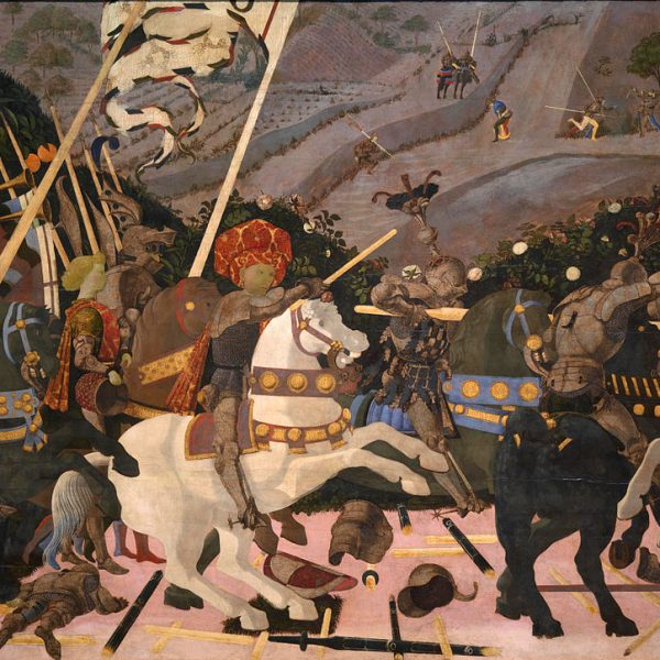 "SAN ROMANO SAVAŞI ""THE BATTLE OF SAN ROMANO"" – UCCELLO"