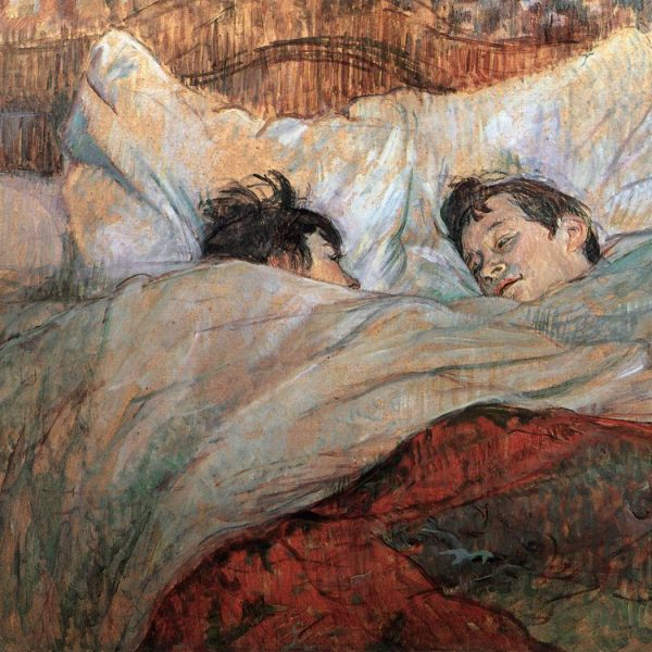 "YATAKTA ""IN BED"" – TOULOUSE-LAUTREC"