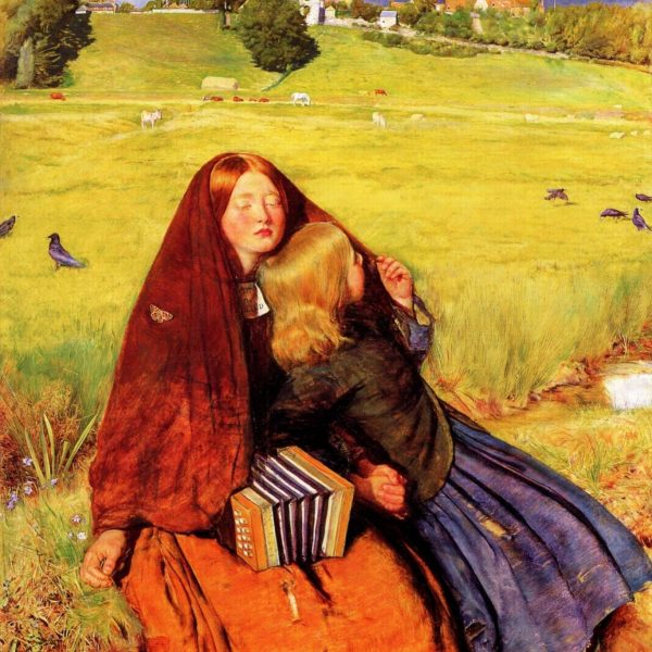 "KÖR KIZ ""THE BLIND GIRL"" – MILLAIS"