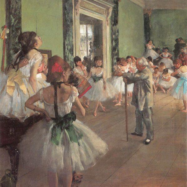 "DANS DERSİ ""THE DANCE CLASS"" – DEGAS"