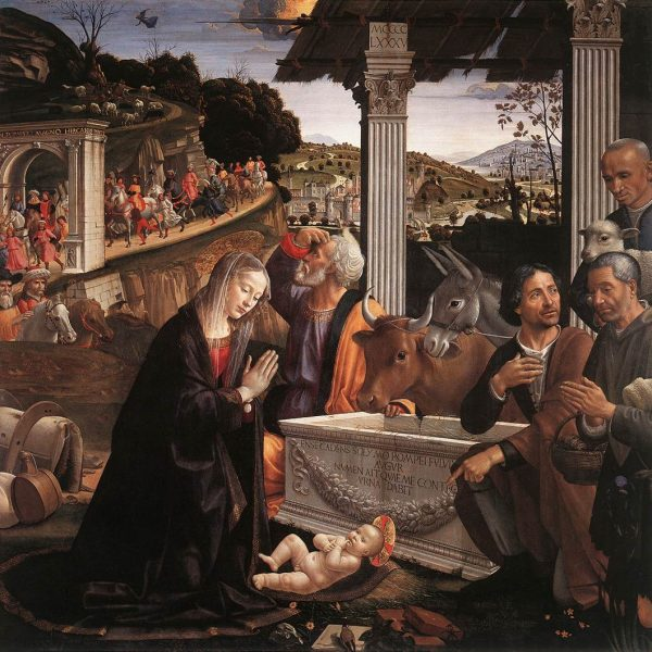 "ÇOBANLARIN TAPINMASI ""ADORATION OF THE SHEPHERDS"" – GHIRLANDAIO"
