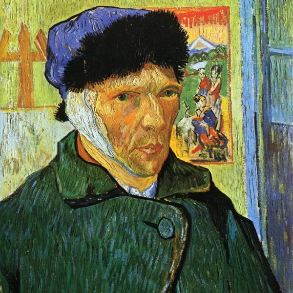 "KULAĞI SARGILI OTOPORTRE ""SELF-PORTRAIT WITH BANDAGED EAR"" – VAN GOGH"