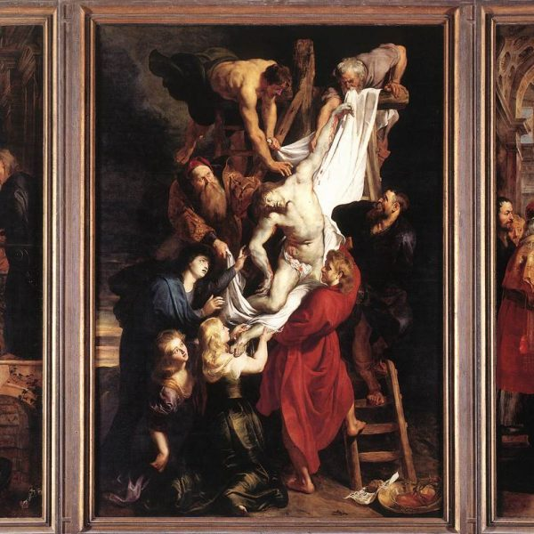 "ÇARMIHTAN İNDİRİLİŞ ""THE DESCENT FROM THE CROSS"" – RUBENS"