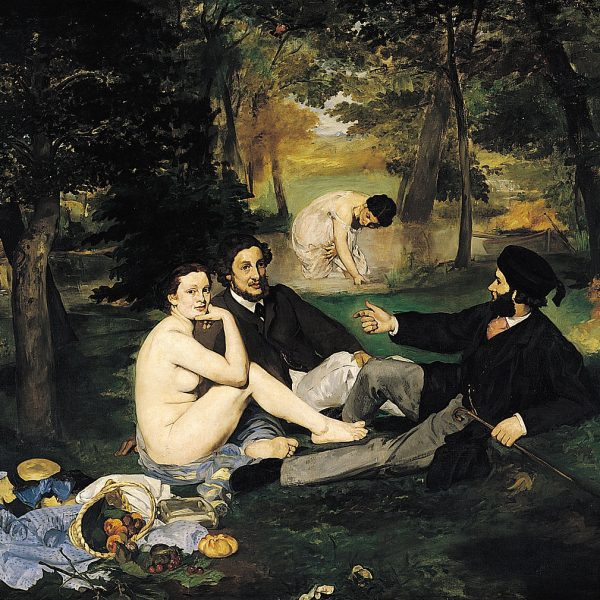 "KIRDA ÖĞLE YEMEĞİ ""LUNCHEON ON THE GRASS"" – MANET"