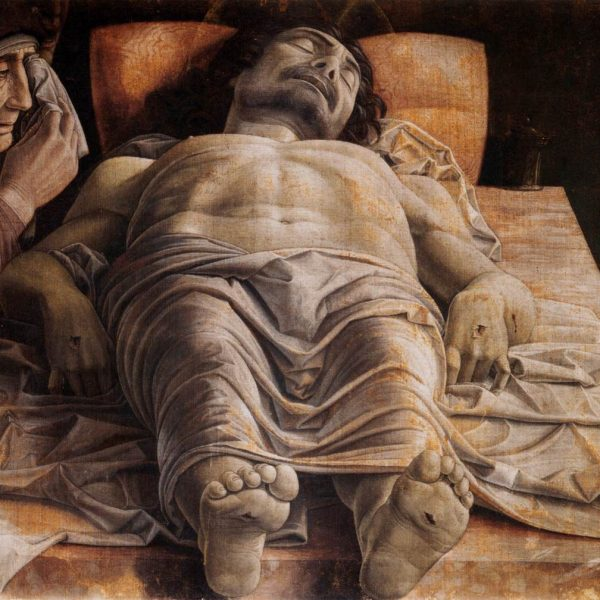 "ÖLÜ İSA'YA AĞIT ""LAMENTATION OVER THE DEAD CHRIST"" – MANTEGNA"