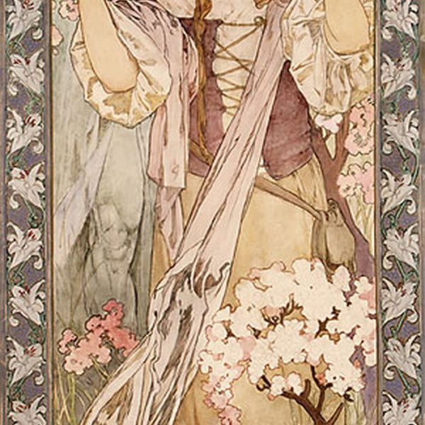 "MAUDE ADAMS JAN DARK ROLÜNDE ""MAUDE ADAMS AS JOAN OF ARC"" – MUCHA"