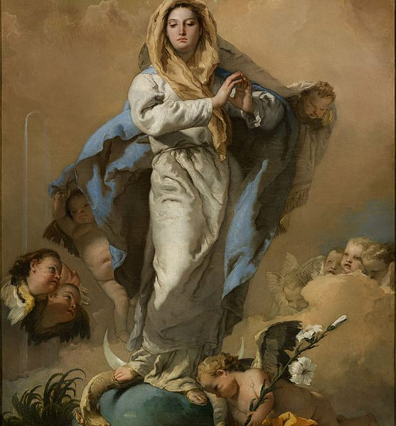 "GÜNAHSIZ GEBELİK ""THE IMMACULATE CONCEPTION"" – TIEPOLO"