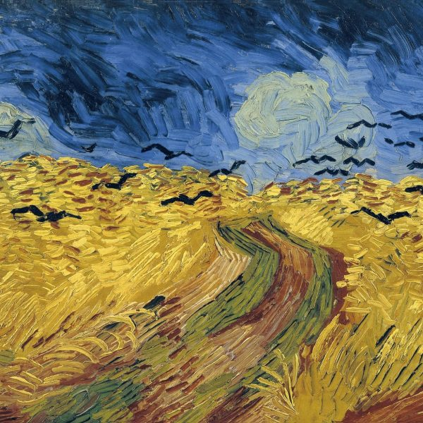 "BUĞDAY TARLASI VE KARGALAR ""WHEATFIELD WITH CROWS"" – VAN GOGH"