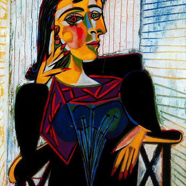 "DORA MAAR'IN PORTRESİ ""THE PORTRAIT OF DORA MAAR"" – PICASSO"