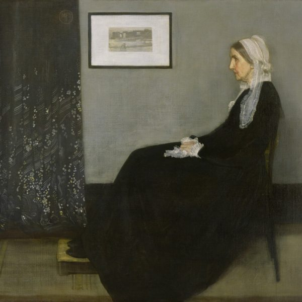 "GRİ VE SİYAH DÜZENLEME NO.1 ""ARRANGEMENT IN GREY AND BLACK NO.1"" – WHISTLER"