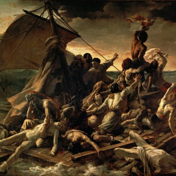 "MEDUSA'NIN SALI ""THE RAFT OF THE MEDUSA"" – GÉRICAULT"