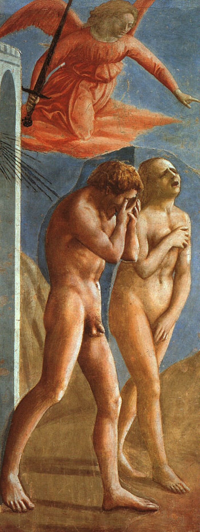 a comparison of the beginning of school to the expulsion of adam and eve from the garden of eden in