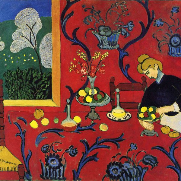 "KIRMIZI ODA ""THE RED ROOM"" – MATISSE"