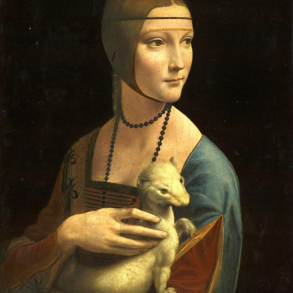 "KAKIMLI KADIN ""THE LADY WITH AN ERMINE"" – LEONARDO DA VINCI"