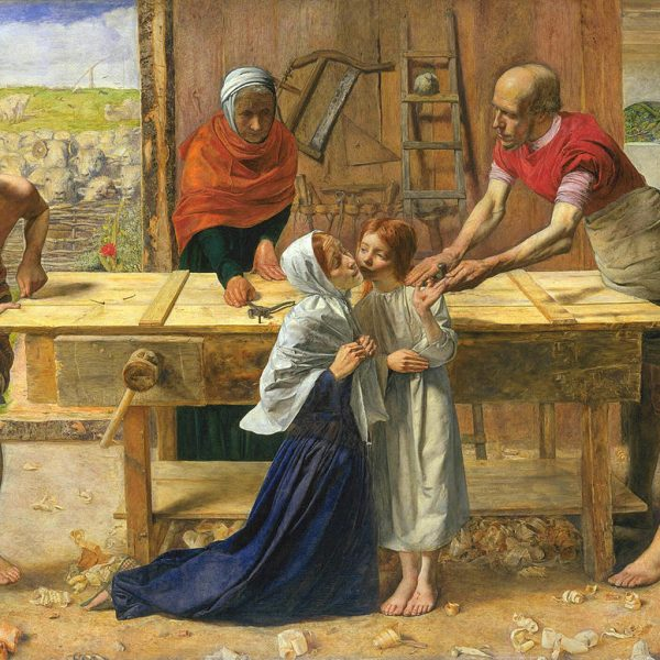 "İSA AİLESİNİN EVİNDE ""CHRIST IN THE HOUSE OF HIS PARENTS"" – MILLAIS"