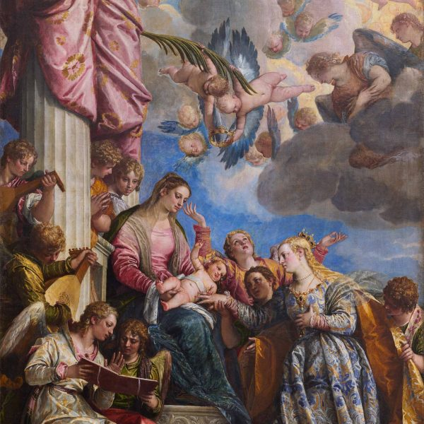 "AZİZE KATERINA'NIN GİZEMLİ EVLİLİĞİ ""THE MYSTICAL MARRIAGE OF SAINT CATHERINE"" – VERONESE"