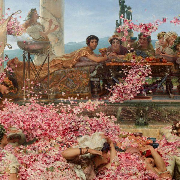 """ELAGABALUS'UN GÜLLERİ """"THE ROSES OF HELIOGABALUS"""" – ALMA-TADEMA"""