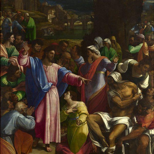 """LAZARUS'UN DİRİLTİLİŞİ """"THE RAISING OF LAZARUS"""" – SEBASTIANO DEL PIOMBO"""