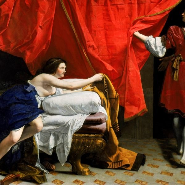 "YUSUF VE POTIFAR'İN KARISI ""JOSEPH AND POTIPHAR'S WIFE"" – ORAZIO GENTILESCHI"