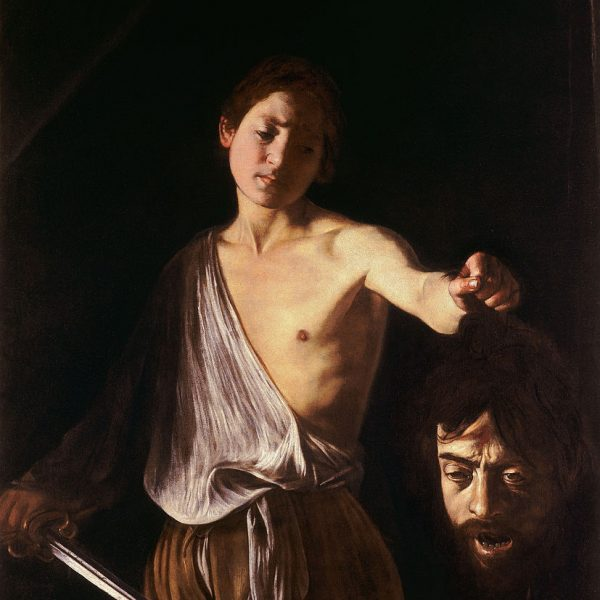 "DAVUT GOLYAT'IN KAFASI İLE ""DAVID WITH THE HEAD OF GOLIATH"" – CARAVAGGIO"